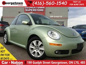 2008 Volkswagen New Beetle 2.5L Trendline | LEATHER | SUNROOF |