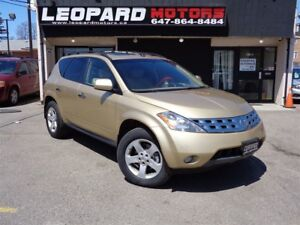 2004 Nissan Murano SE,Awd,Sunroof,Heated Seat,Alloy Wheels*Certi