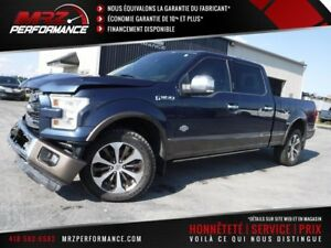 2015 Ford F-150 King ranch - 5.0L - FULL - Cuir - Toit - GPS - U