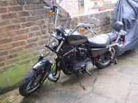 Harley Davidson XL883R Sportster ROADSTER 2015 ABS WARRANTY Alarm Immobiliser motorcycle motorbike