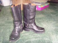 Ladies Harley Davidson Black Boots