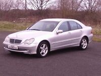 MERCEDES C200 AVANTGARDE SE AUTO (1 LADY OWNER FROM NEW) 12 MONTHS M.O.T