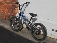 "Boys 18"" BMX style bike"