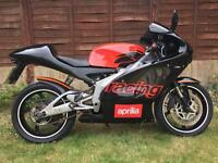 Aprilia Rs 125 racing fast bike good clean condition mot hpi clear great