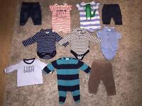 50 items Baby Boy Clothes, Blankets and Toys £30 (view all photos!!)