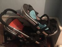 iCandy Peach Blossom Double Buggy for sale £450 ono