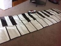 large floor keyboard