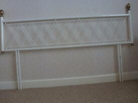 Double Bed Wrought Iron Headboard