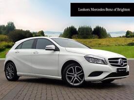 Mercedes-Benz A Class A180 CDI BLUEEFFICIENCY SPORT (white) 2014-02-12