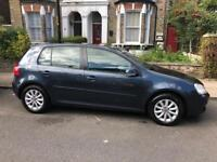 2008 Blue VOLKSWAGEN GOLF 1.9 TDI Match in excellent conditions for sale