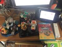 Nintendo Wii u 32gb Console & Games