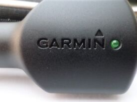 Genuine GARMIN In Car Charger Unit and USB cable - BRAND NEW