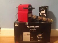 Nespresso inissia and aeroccino3 machine