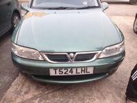 Vauxhall vectra 2 litre automatic