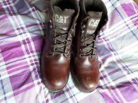 Mens caterpiller boots size uk 10