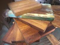 Bread boards/Chopping boards reclaimed hardwood/oak