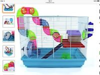 Brand new Hamster Cage for Syrian Dwarf Hamster, Gerbil, Mouse by Easipet