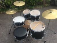 Mid-range drum kit for sale, Mapex Horizon Rock Fusion, 2 years old