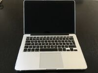 "Apple MacBook Pro 13"" Retina Late 2013, 2.4 GHz i5, 4GB RAM, 128GB SSD"