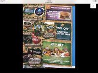4x Chessington adventure park tickets
