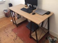 LARGE TRESTLE TABLE DESK ONLY £50
