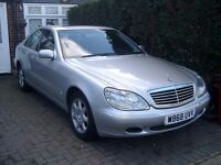 Mercedes S-Class Diesel 320 CDI Auto Silver Good Condition with MoT to May 2017