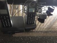 Landline phone set