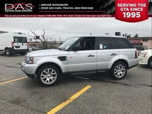 2007 Land Rover Range Rover Sport HSE NAVIGATION/LEATHER/SUNROOF