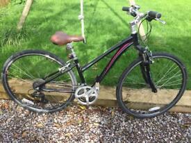 Ladies Raleigh Hybrid Bike- Very Little Use