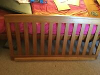 Mamas and Papas Ocean Oak Cot Bed