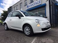 2013 Fiat 500 1.2 Pop - 3DR - 69BHP - Full Service History - Low Rate Finance Available