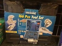 NEW Kincrome 166 pce tool set