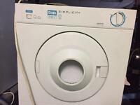 Vented mini dryer