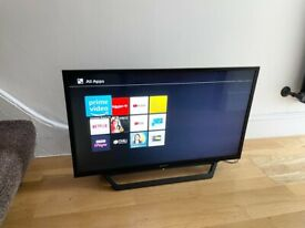 "SONY 32"" FULL HD SMART FREEVIEW TV, GOOD CONDITION FULL WORKING ORDER £160 NO OFFERS CAN DELIVER"