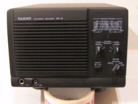 YAESU SP8 SPEAKER WITH FILTERS in very nice condition