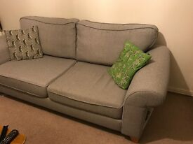 Sofa only 18 months old good condition; collection only from Jan 17th onwards
