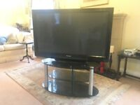 Panasonic Viera 42inch Full HD Plasma TV in Excellent condition, with FREE glass stand