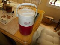 Coleman water cooler-Like new