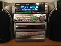 Aiwa cd/tape player