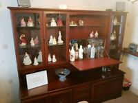 Teak William Lawrence Display Cabinet Mahogany