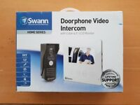 SWANN DOORPHONE VIDEO INTERCOM - COLOUR 4.3 INCH MONITOR - NEW