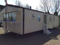MODERN 3 BEDROOM DOUBLE GLAZED AND HEATED SPACIOUS CARAVAN HOLIDAY HOME SITE FEES INCLUDED REDUCED !