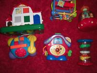 bundle of toys £10. baby and toddler