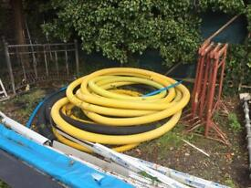 Plastic under ground duct flex, water , gas electric pipe