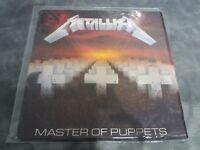 Metallica Master of Puppets original pressing in v g c