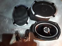 New In Box Vibe Slick 6 x 9 Car Speakers by British Audio