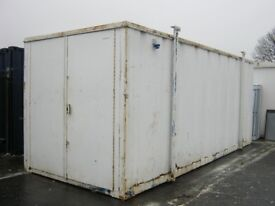 "21ft x 9ft High Security Site Storage Container "" FOR SALE ""shipping container portable cabin store"