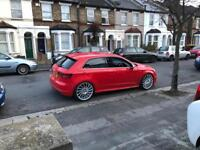 Audi A3 sline 2013 20 alloy wheels private plate