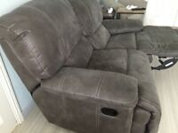 Large 2 Seater Reclining Sofa Excellent condition