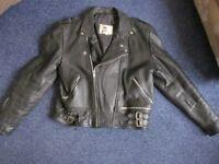 Man's Leather Biking Jacket